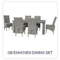 GB ENHOVEN DINING SET
